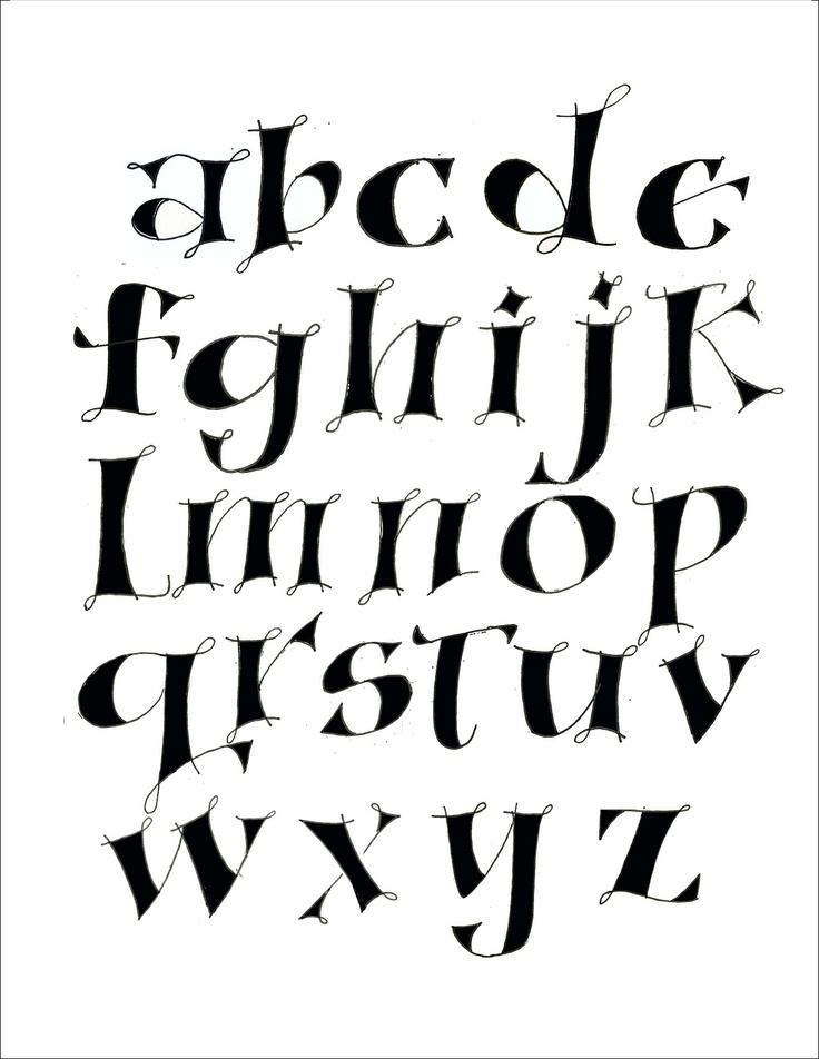 Best Fonts Images On   Handwriting Fonts Letter