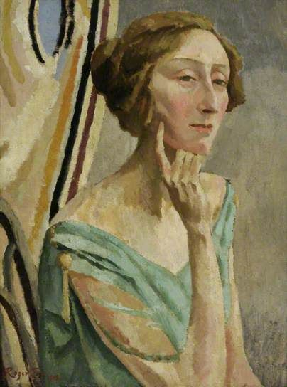 Edith Sitwell (1887–1964), 1918 by Roger Fry  (British, 1866–1934)