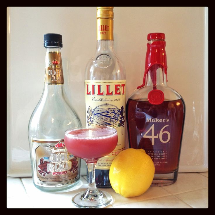 19th Century Cocktail and ingredients