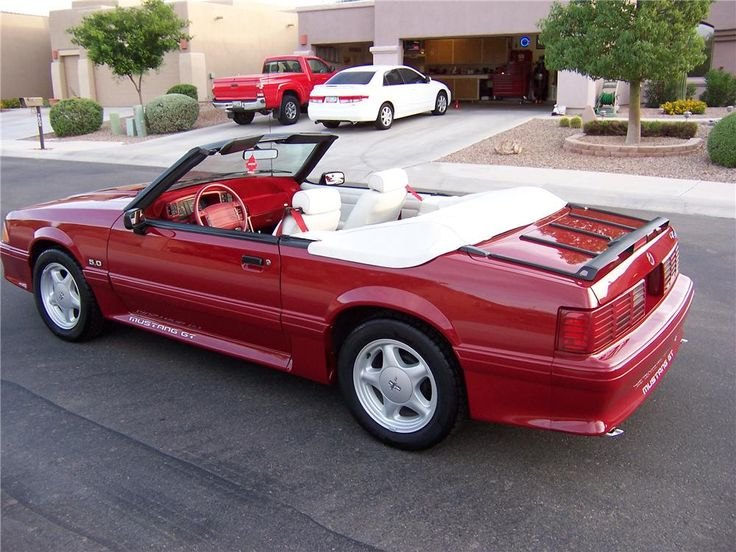325 best images about Convertible Mustangs on Pinterest  Cars