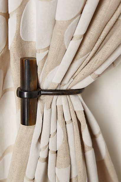Curtains Ideas anthropologie curtain tie backs : 1000+ images about | TIE BACKS FOR CURTAINS | on Pinterest | Ties ...