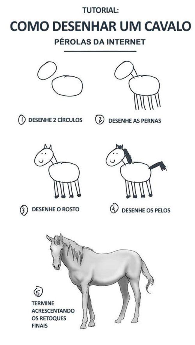 e-facil-desenhar-um-cavalo
