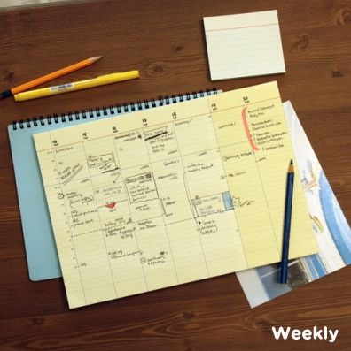 The *Large Desk Notepad* is a simple and extremely useful notepad. Place the notepad in front of your keyboard to easily write down notes, sketches, dates or events! The Large Desk Notepad is easy to tear off when you need to take your notes and p...