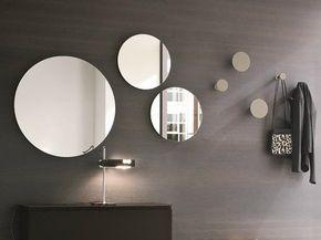 Specchio rotondo a parete per ingresso Specchio rotondo - Birex