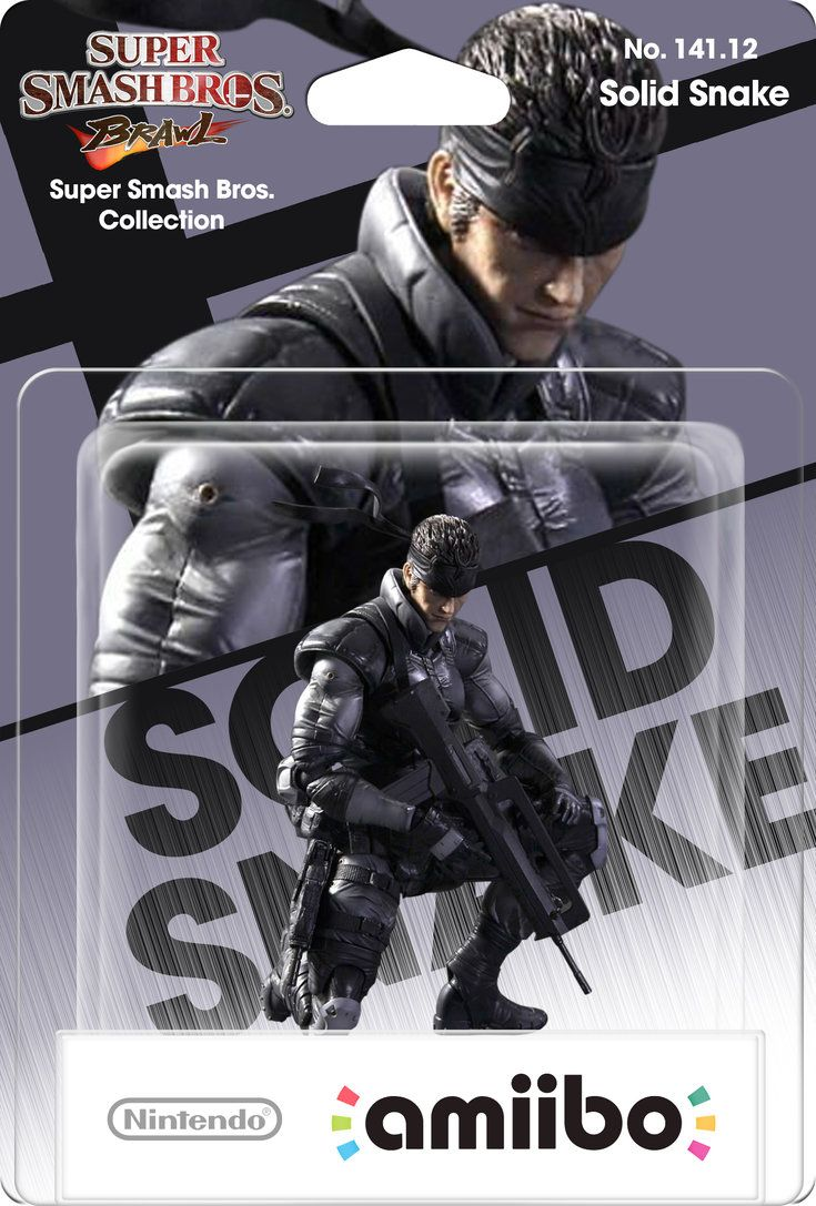 Solid Snake SSB Super Smash Brothers iphone case