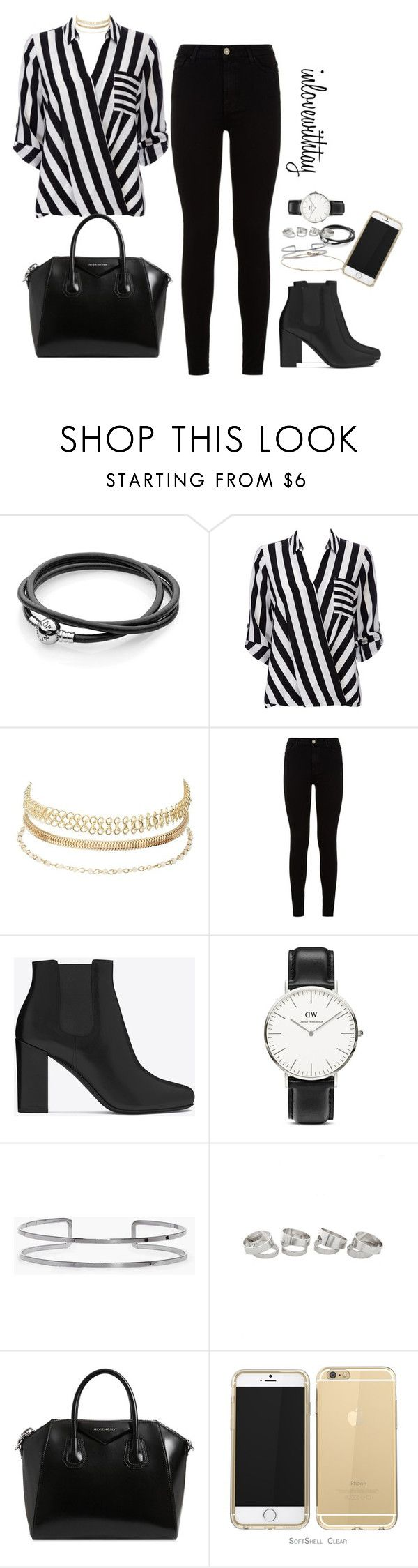 11❤ by inlovewithtay on Polyvore featuring mode, Wallis, 7 For All Mankind, Yves Saint Laurent, Givenchy, Daniel Wellington, Boohoo and Charlotte Russe