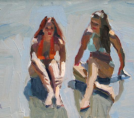 peggi kroll-roberts | the beach