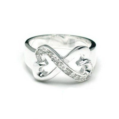 Tiffany & Co Outlet Paloma Picasso Double Loving Heart Ring