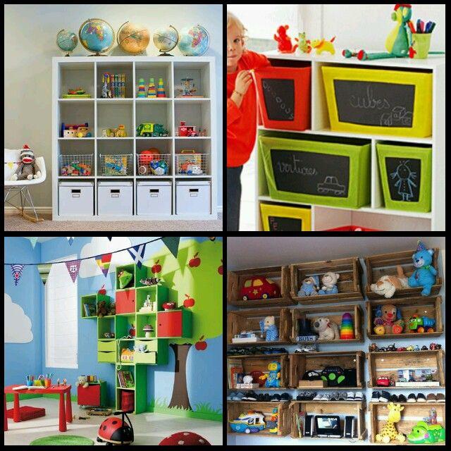 Formas de organizar los juguetes caoticos de tu hijo 4