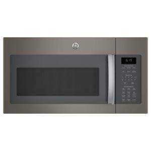 GE 1.7 cu. ft. Over-the-Range Sensor Microwave Oven in Slate JVM6175EKES at The Home Depot - Mobile