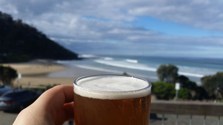 Love a drink or a meal with a beautiful beach view