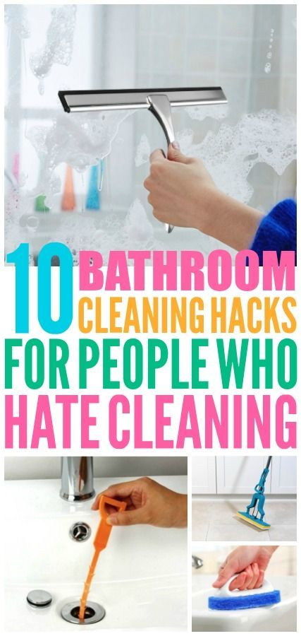 10 Bathroom Cleaning Tools from Amazon !Pinned Over 5,000 Times