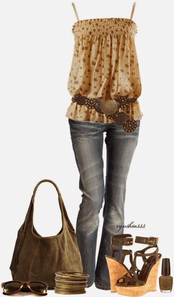 Beautiful spring and summer outfits 2014