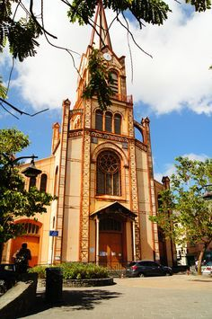 Chruch at Fort de France with France langue Martinique http://martinique.france-langue.com/school/