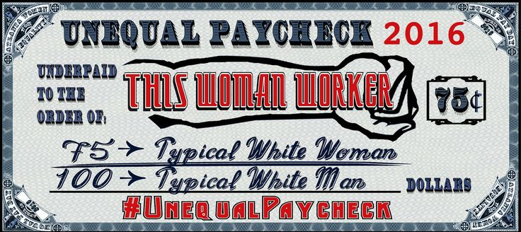 Please use this paycheck for your #UnequalPaycheck selfie if you are a white woman. Tweet and post your selfie on April 12, Equal Pay Day, with the hashtags #UnequalPaycheck and #EqualPay to raise awareness about the wage gap. And don't forget to attend our Facebook event at  https://www.facebook.com/events/212408139115727!