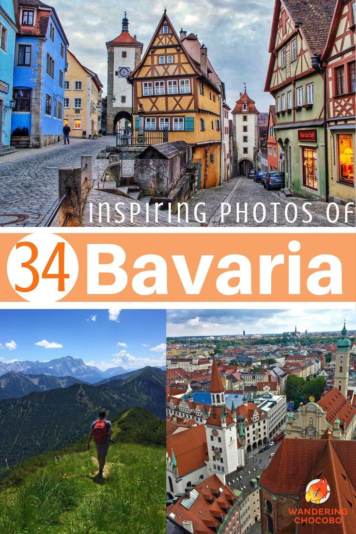 Book your next trip to Bavaria with these 34 Stunning photos to inspire you to visit beautiful Bavaria, Germany