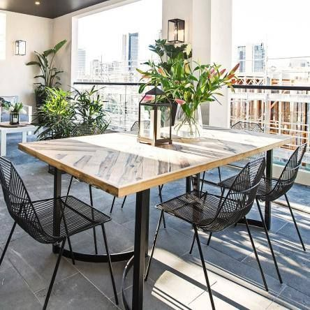 The beautiful golden Sassafras timber dining table used by @juliaandsasha on their terrace is on SALE at The Block Shop. BUT there's only 1 left so if you're in the market for a dining table upgrade hurry if you want this stunner to be yours! http://ift.tt/2fUvRS2 #9theblock @fpfurniture @hydrowood