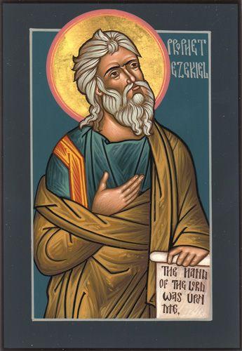 Prophet Ezekiel by Matthew Garrett