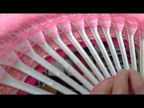Victorian fork fan - YouTube
