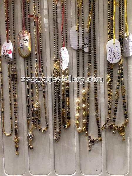 12 Grams Black Beads Gallery   Jewellery Designs