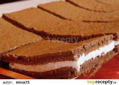 Mléčný řez recept - TopRecepty.cz