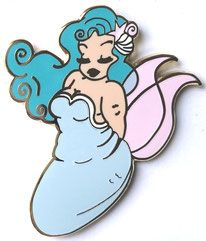 Enamel Pins Shop - Lulemee Art - vintage inspired illustrations, pins and dolls