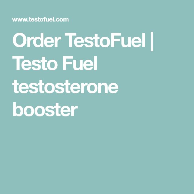 Order TestoFuel | Testo Fuel testosterone booster