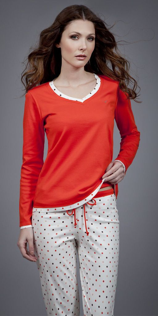 Pyjamas Interlock 1567 | Homewear| Vamp!