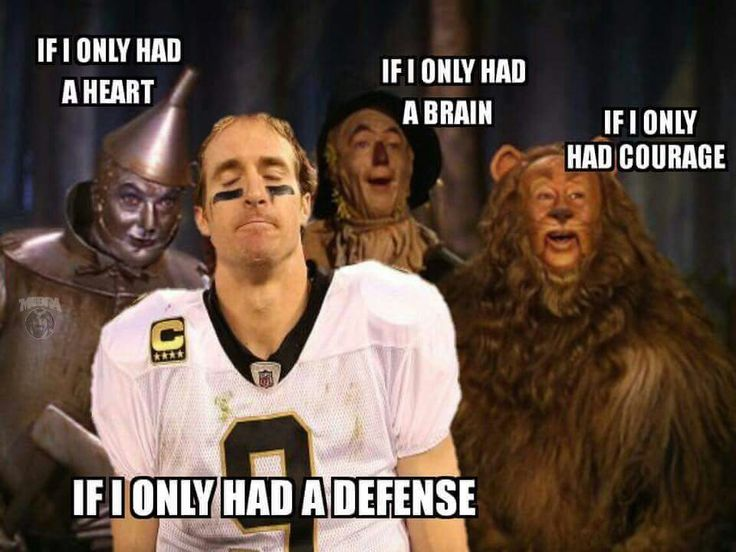 Saints Drew Brees. If only I had a Defense. Our Defense Sucks.