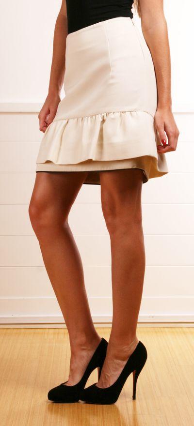 Marni Cream Skirt