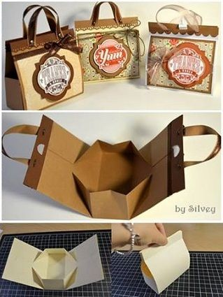 Mini Cardboard Bag for Presents – DIY