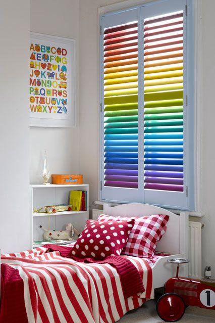 Rainbow Brights - Kids Bedroom Ideas - Children's Room Decorating (EasyLiving.co.uk)