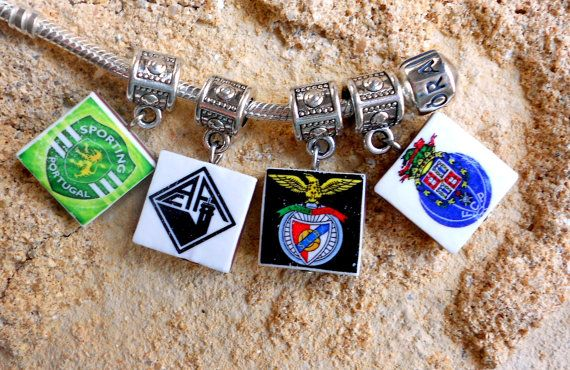 Portugal SOCCER FUTEBOL Club Pendants  Sporting Académica by Atrio