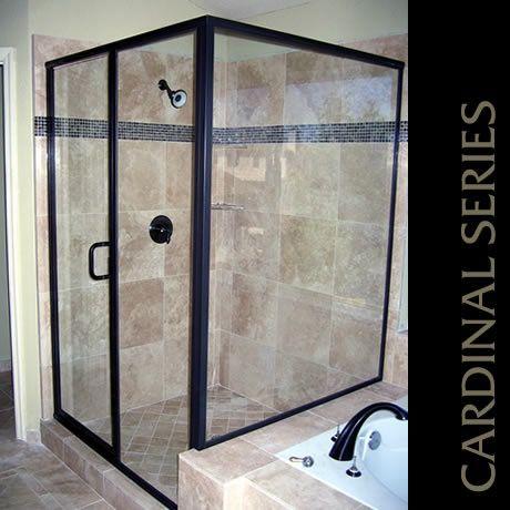 Cardinal enclosure in Oil Rubbed Bronze. & 25 best Cardinal Shower Enclosures images on Pinterest | Shower ...