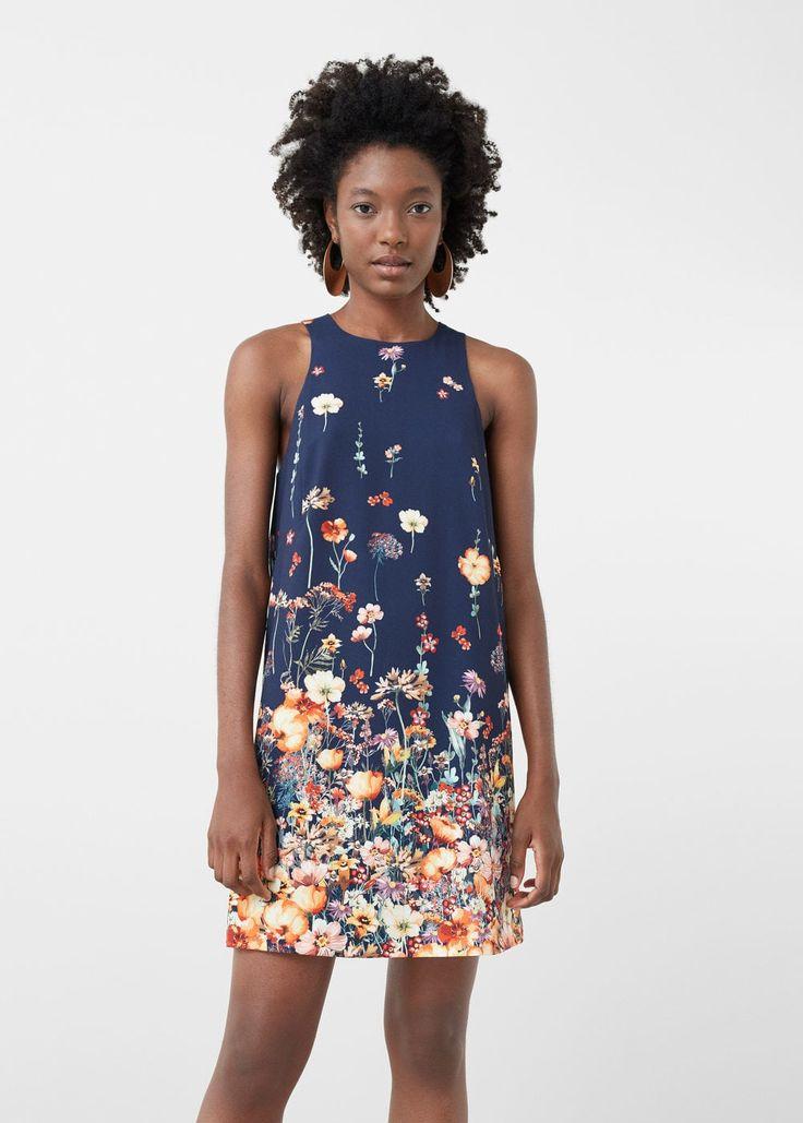 Vestido estampado floral | MNG
