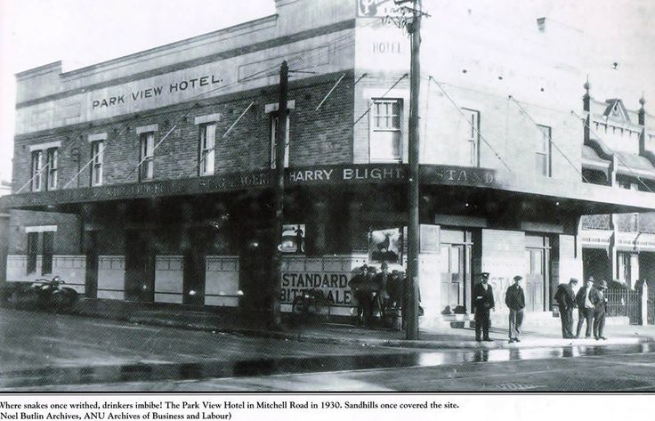 Park View Hotel. Mitchell Road.