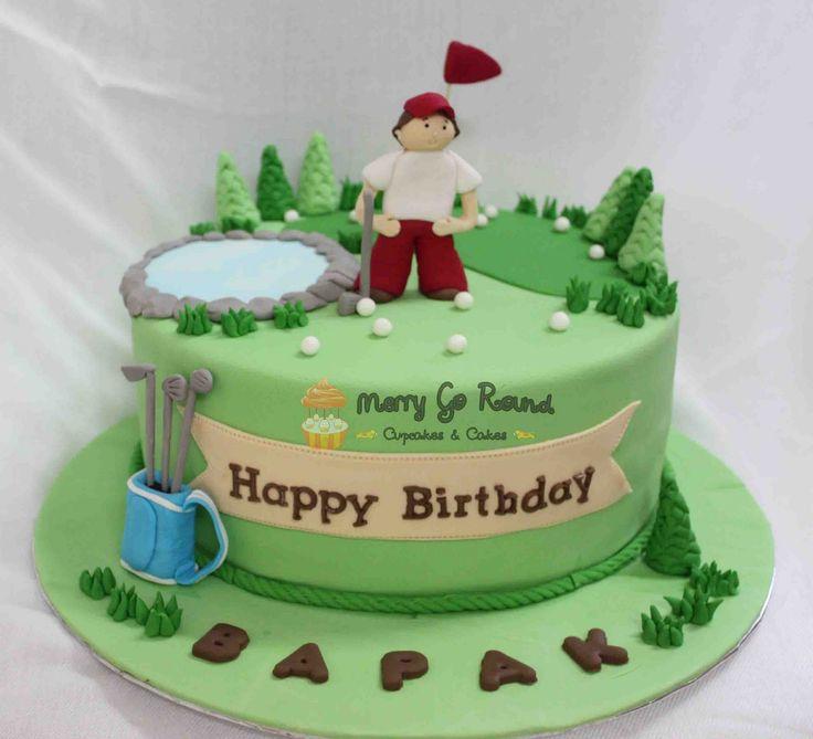 57 best Golf images on Pinterest Golf cakes Golf themed cakes
