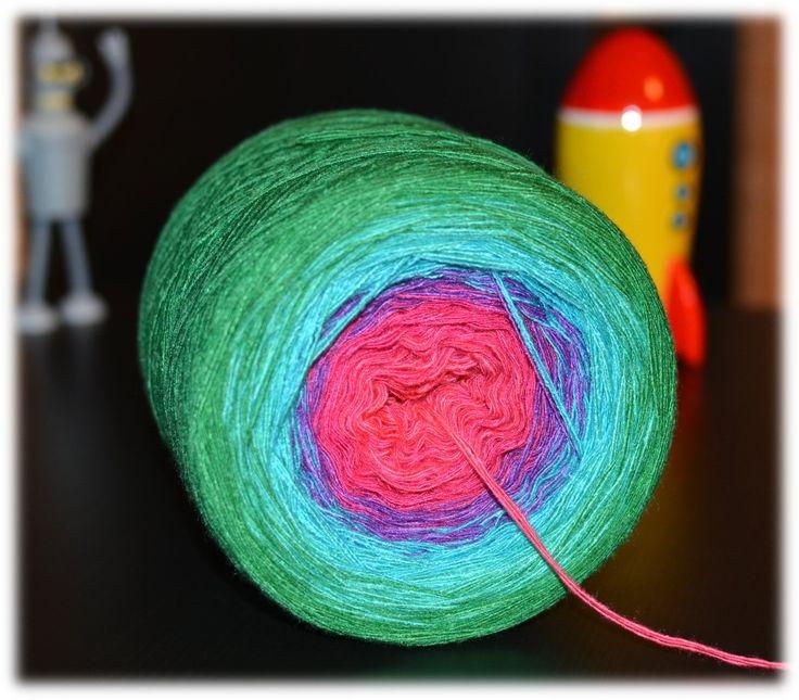 Woolpedia® Colors Sensation II 4fach 1500m Modal Farbverlaufsgarn