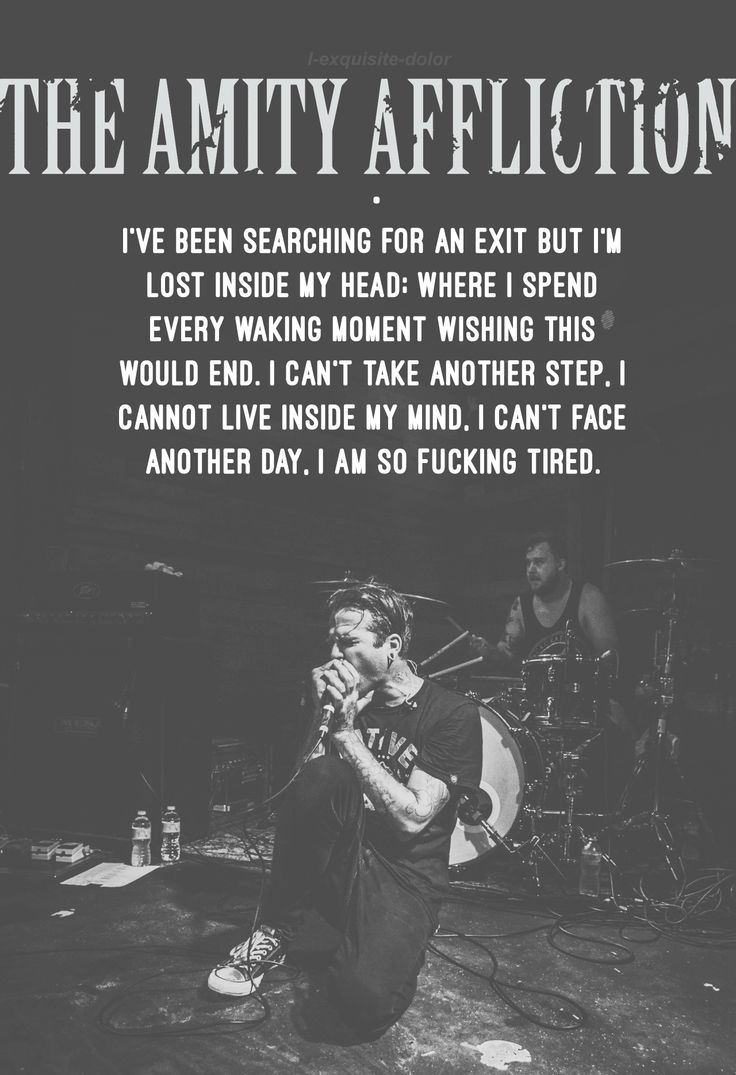 The Amity Affliction - Pittsburgh.