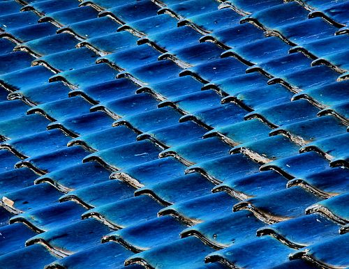 1000 images about chinese roofs on pinterest tibet Bright blue tile