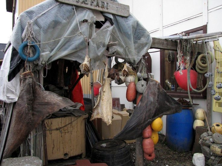 Islanda: Usavik, angolo dei pescatori