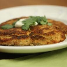 Cilantro Chicken Milanese with Raita | Food- Indian | Pinterest