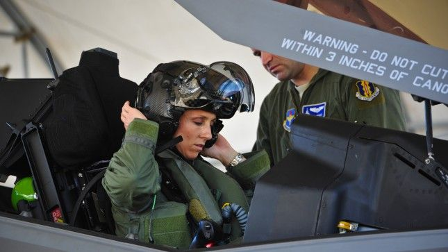 Air Force announces first female F-35 pilot | TheHill