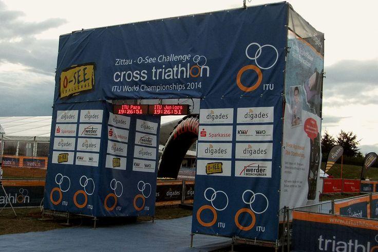 https://flic.kr/p/xbsR6B | Zittauer Gebirge und Olbersdorfer See,Triathlon WM in Zittau 2014 | ITU World Championships 2014 in Zittau in (Sachsen)