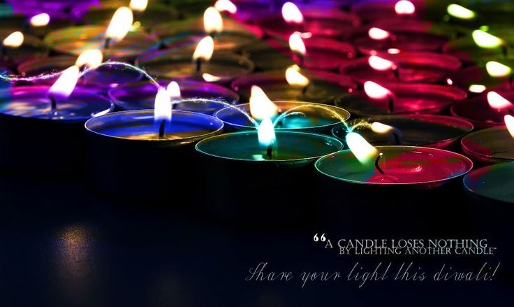 Stay Safe and Share Light this Diwali...