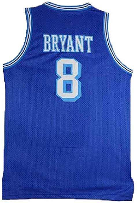 cd8c43d9d18 Amazon.com  FGHSFRT Men s Kobe Jerseys Los Angeles 8 Legend Jerseys Blue Retro  Basketball Jersey (XL)  Clothing