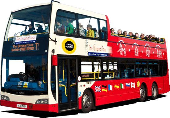 London Sightseeing Bus Tours: Hop On Hop Off London - The Original Tour