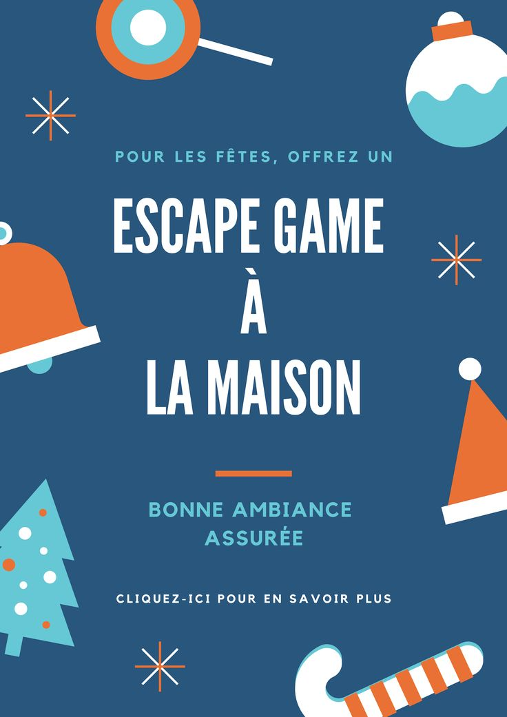 Escape Game Maison Pour Les F 234 Tes De No 235 L Escapekit