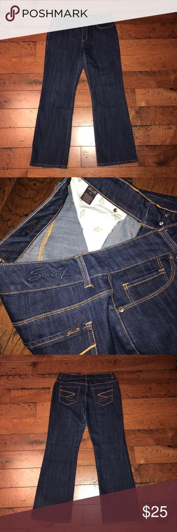 Seven jeans Size 12 dark wash Seven jeans.  EUC Seven7 Jeans Boot Cut