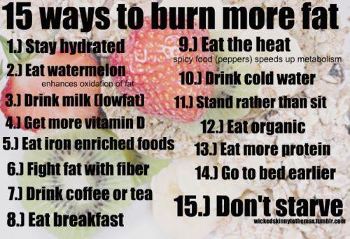 burn fat fitness